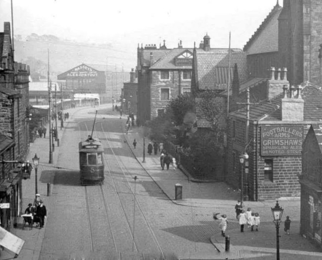 1910 view down St James St